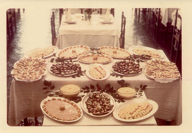 Un buffet del 1969