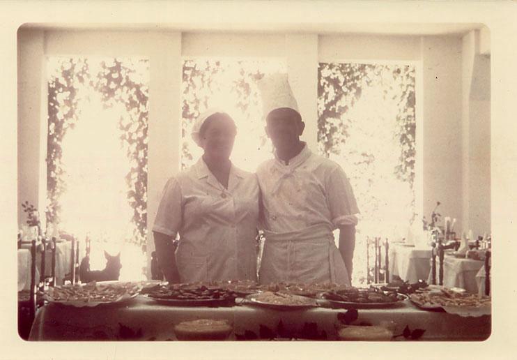 Lo chef e la sua aiutante